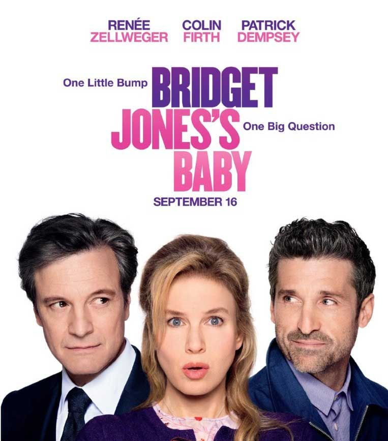 Film Poster for   Bridget Jones's Baby