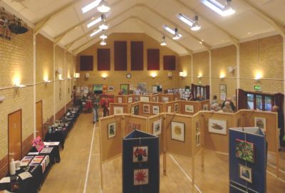 Pictures on display at Village Hall