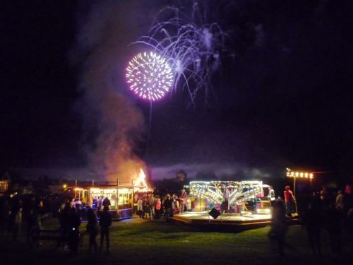 Fireworks and fun fair