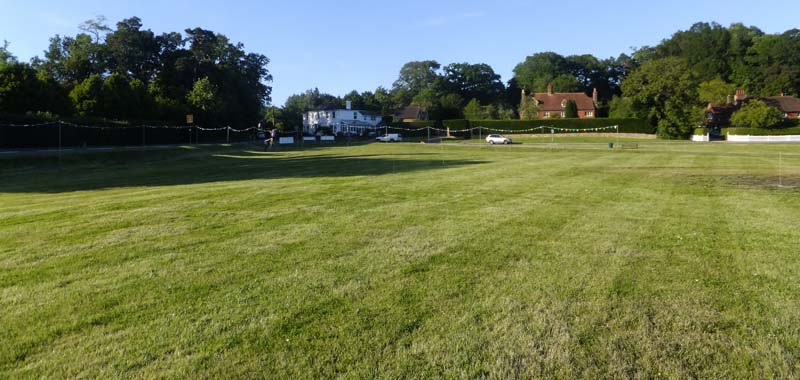 Village Green day before the fete