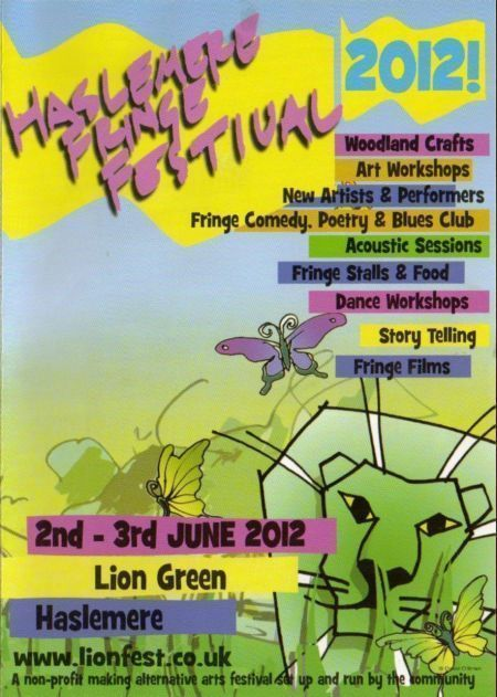 Poster Lion Fest Haslemere