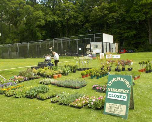 Plant Nursery closed prior to opening