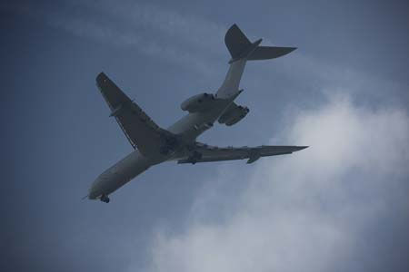 VC 10 Fly past